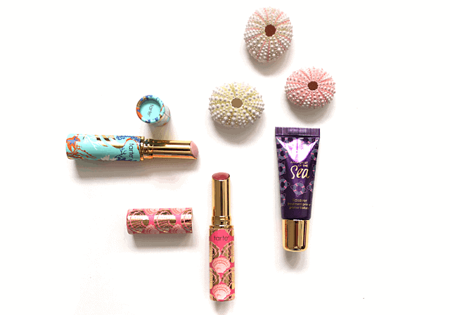 Tarte Rainforest of the Sea LipSaver and Quench Lip Rescue Review and Swatch