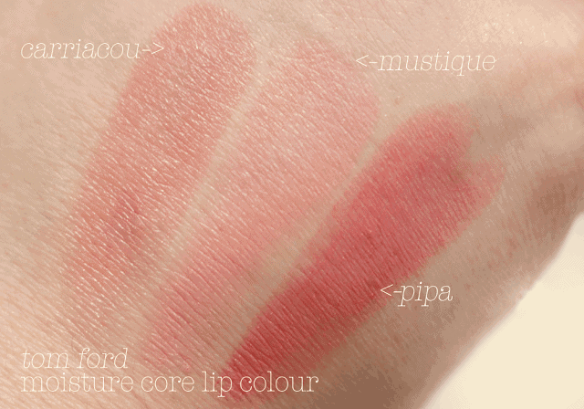 Tom Ford Moisturecore Lip Color Review and Swatches