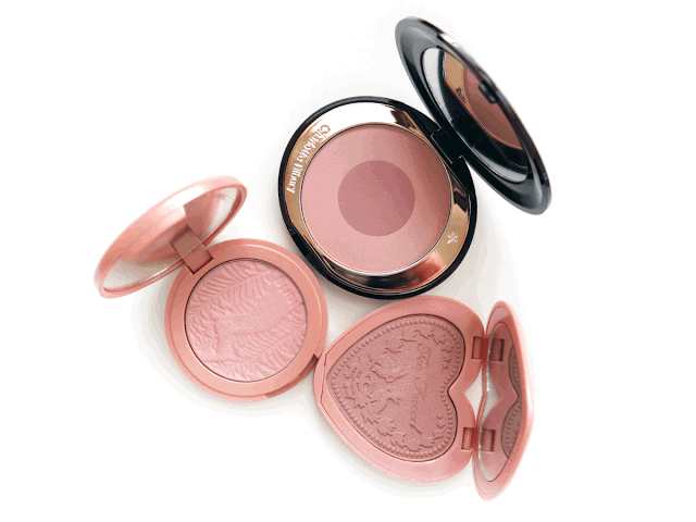 3 Neutral Blushes you must have, including Too Faced, tarte and Charlotte Tilbury