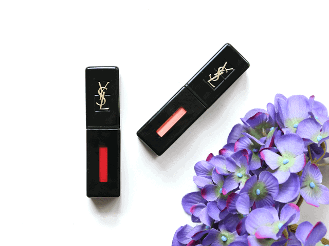 YSL Vinyl Cream Lip Stains review, swatches and giveaway
