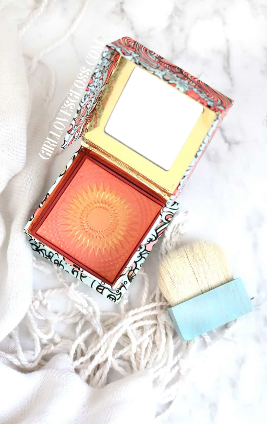 Benefit GALifornia Blush Review and Swatch
