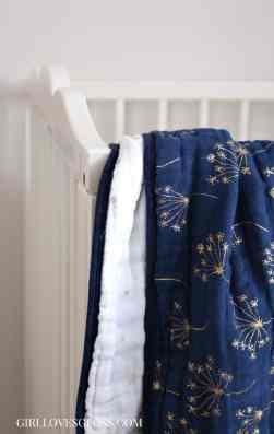 Aden + Anais Dandelion Blanket