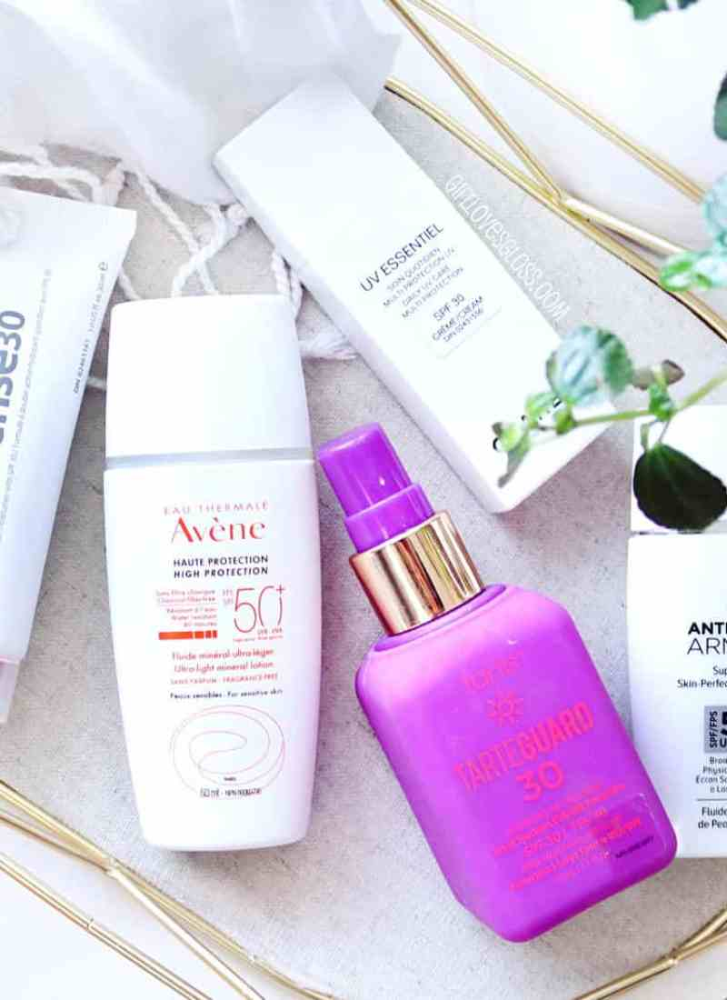 5 Face Sunscreens I Love