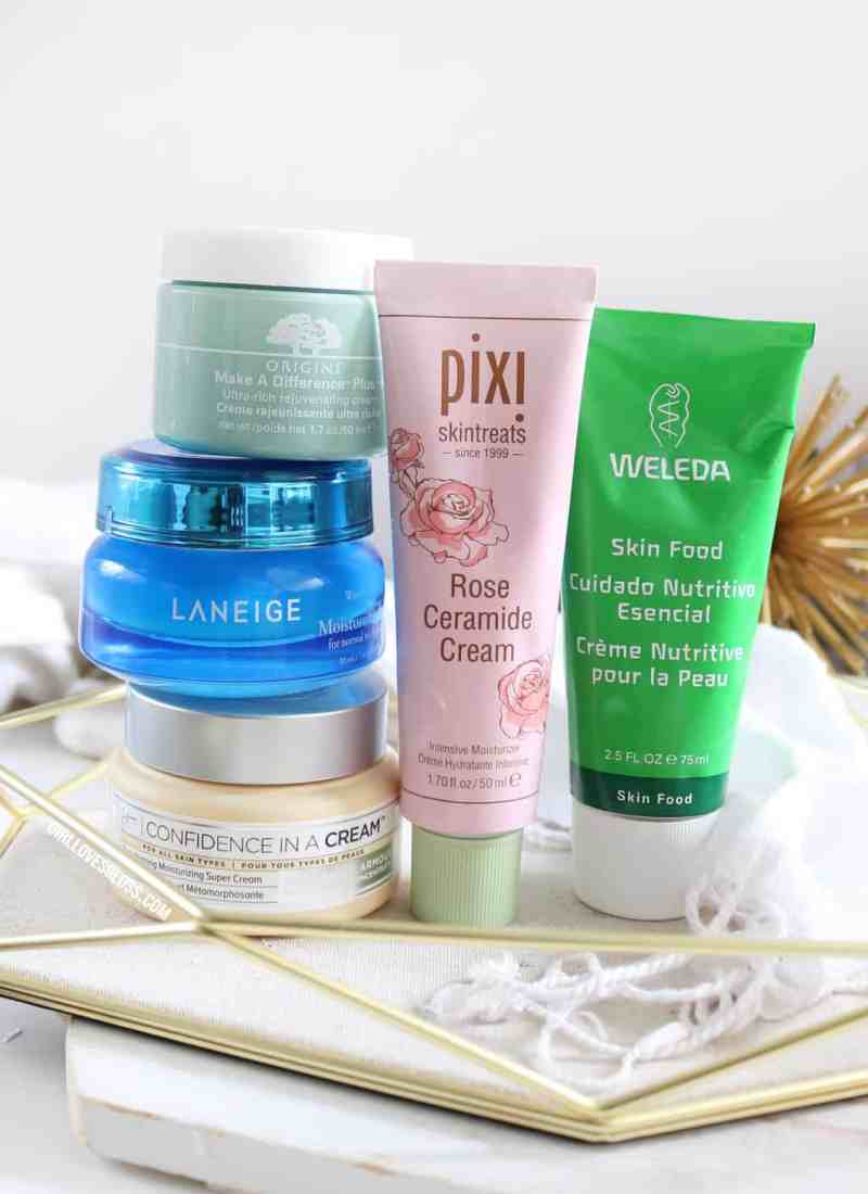 5 great Moisturizers for Dry Skin