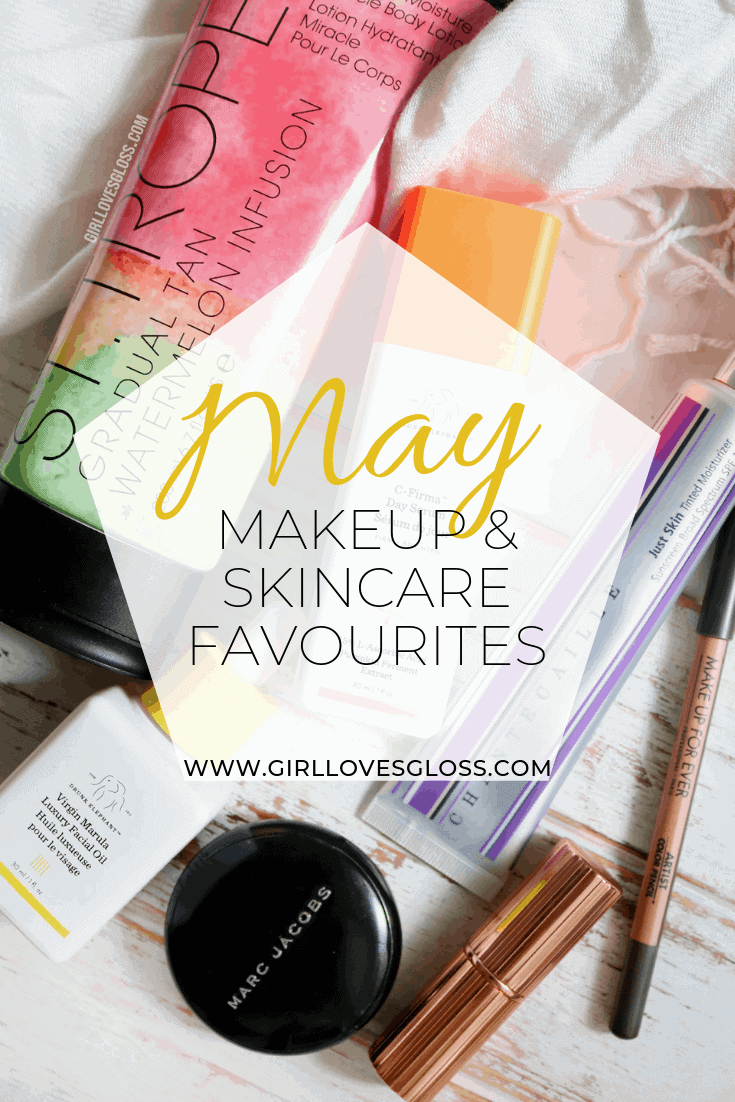 May 2019 Makeup Skincare Beauty Favourites