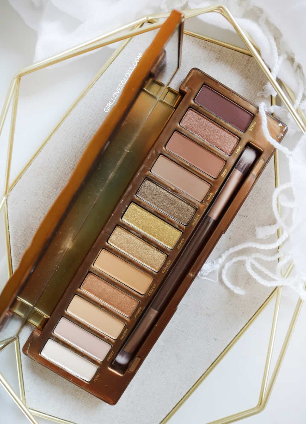Urban Decays new Naked Honey eyeshadow pallet is about to