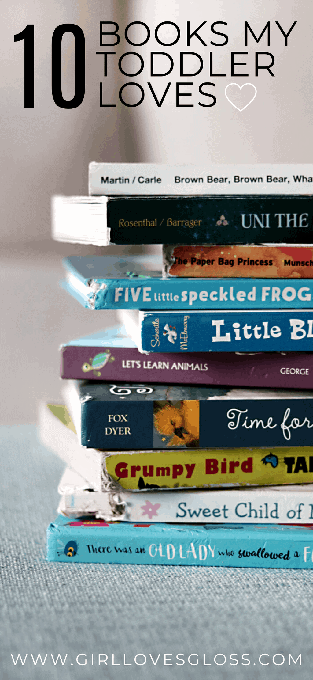 10 Best Toddler Books for Ages 0-2
