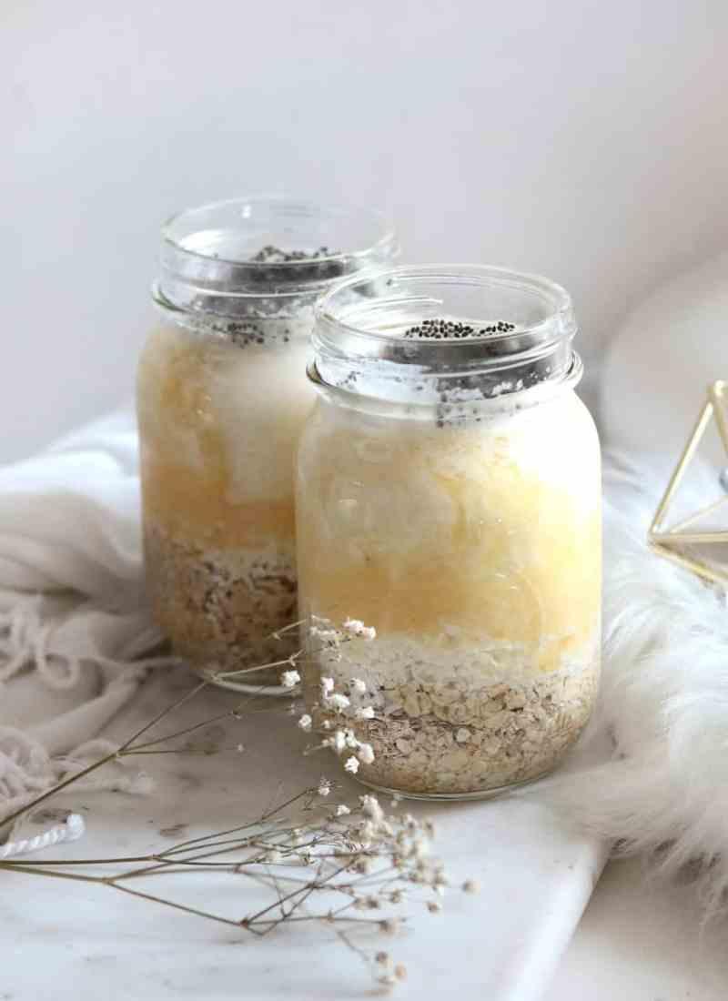 Pina Colada Overnight Oats Recipe
