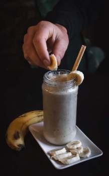 milshake banane proteines