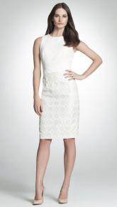 Sleeveless Mixed Media Dress by Jones New York