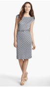 Tory Burch 'Kalvin' Belted Silk Shift Dress from Nordstrom