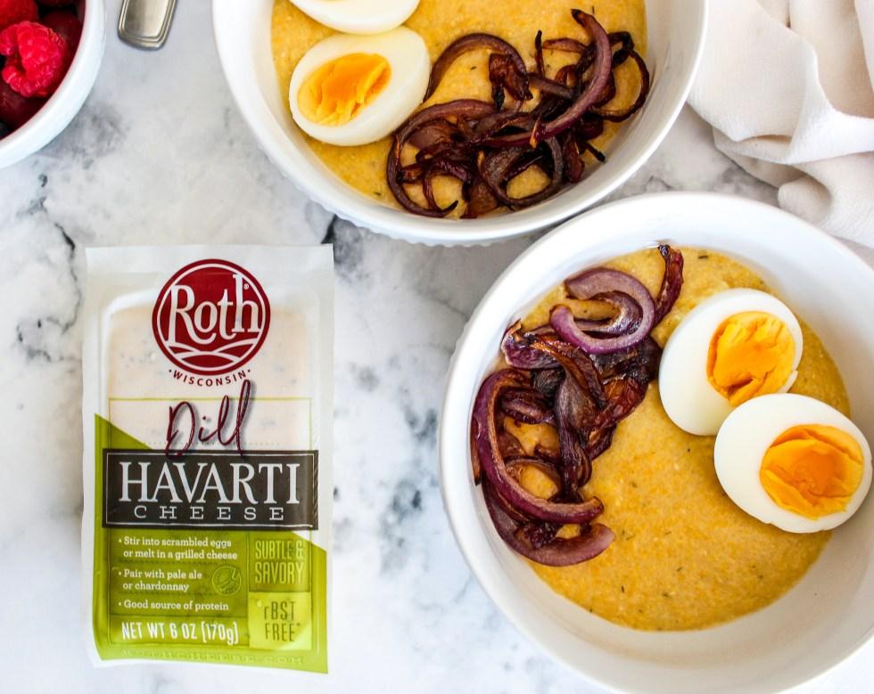 Roth: Dill Polenta Breakfast bowl