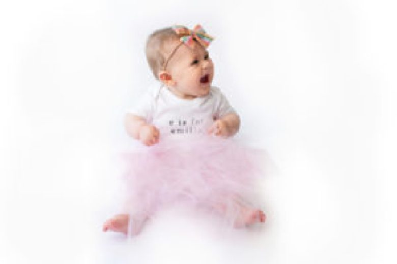 baby girl tulle skirt