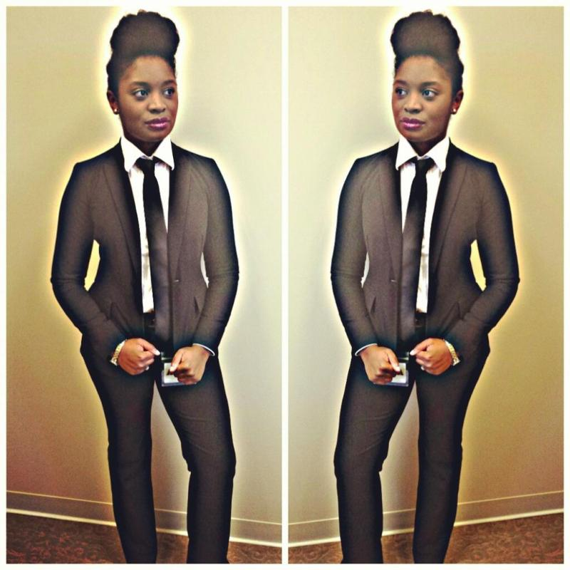 janelle monae inspired natural hair halloween costume