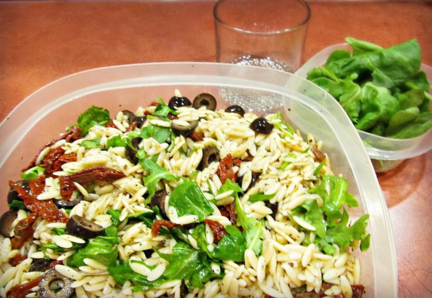 Orzo pasta salad 2