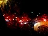 Raindrops and Headlights