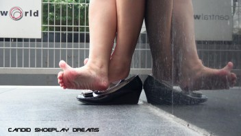 Asian Sales Girl's Magnificent Lunch Break Dipping(2)