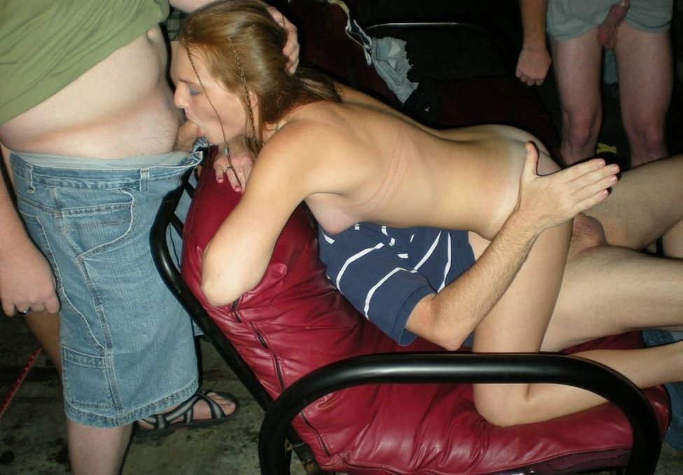 amateur wife goes nude at party