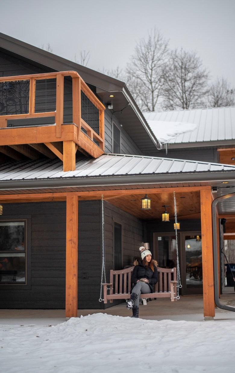 minnesota cabin outdoors