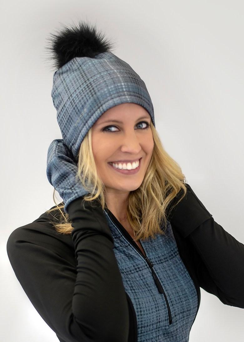 WSI Polar Plaid Beanie Hat