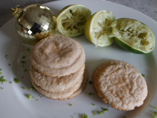 Lime cookies 004