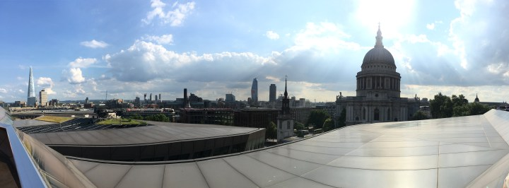 London Skyline from St Paul's Cathedral | How to Spend 3 Days in London | A Girl of Many Passports