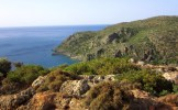 The view above ancient Lissos