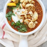 roasted cauliflower dahl
