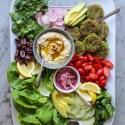 crispy kale falafel