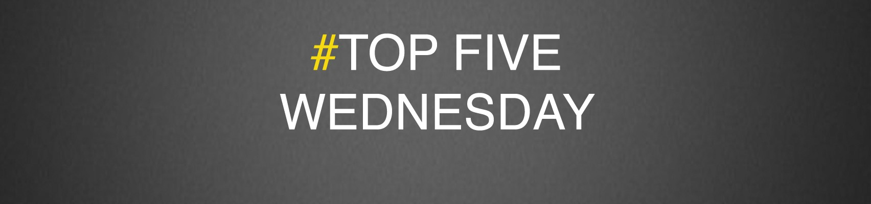top5wednesday