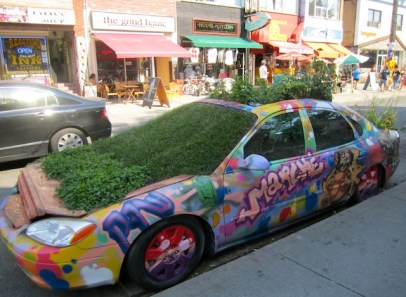 Car in Kensington - Toronto