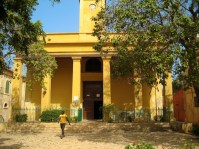 Yellow House on Goree Island - Senegal