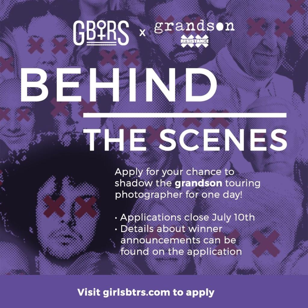 """G.B.T.R.S and Grandson present """"Behind the Scenes"""""""