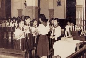 1949年9月2日 第4,5団発団式