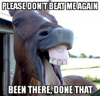 beaten-horse