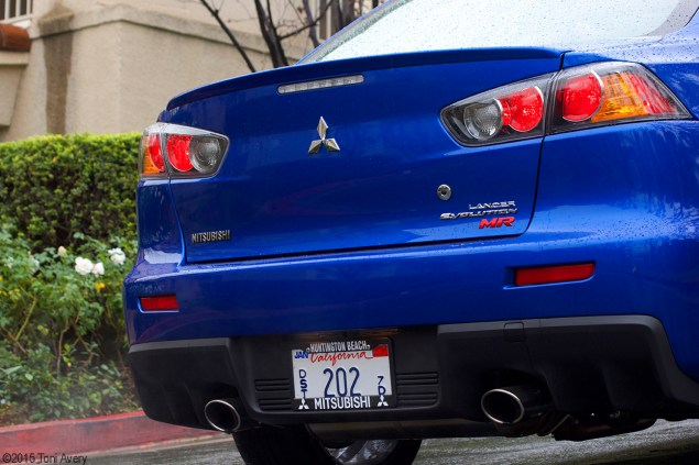 Evo rear close up