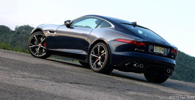 F-Type R rear sunrise 2
