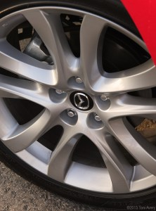 Mazda6 wheel