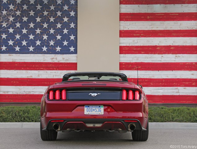 2015 Ford Mustang EcoBoost rear