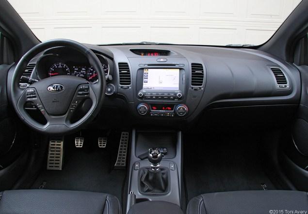 2015 Kia Forte Koup SX interior