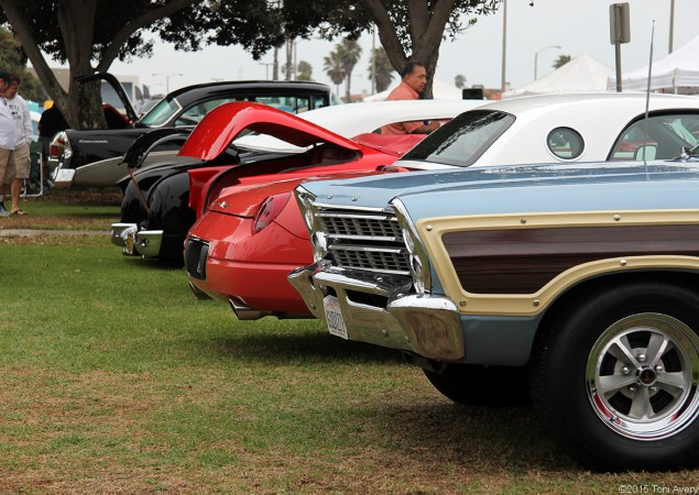 rear lineup