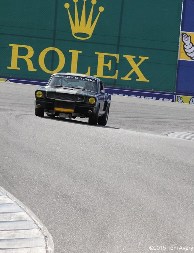 8-15-15 Laguna Seca Raceway, Salinas CA Group 3A - 1965-1970 Shelby Mustang Cars