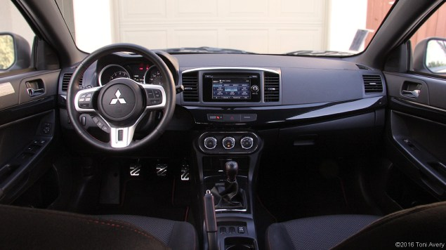 2015 Evo Final Edition Review interior