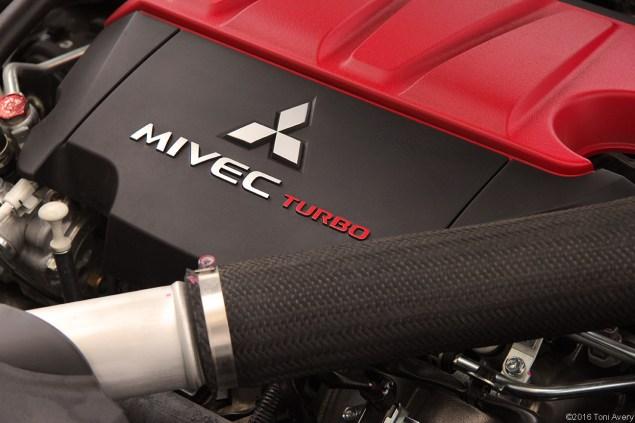 2015 Mitsubishi Lancer Evolution Final Edition engine