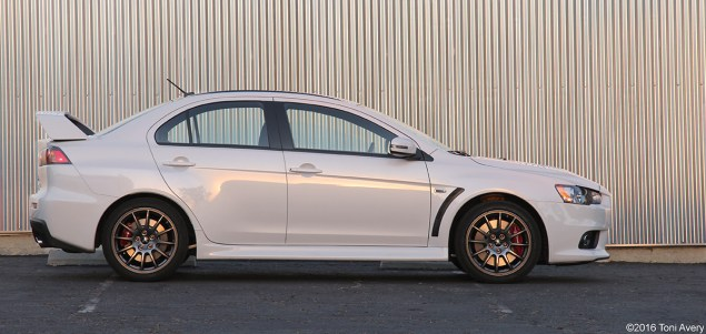 2015 Mitsubishi Lancer Evolution Final Edition profile