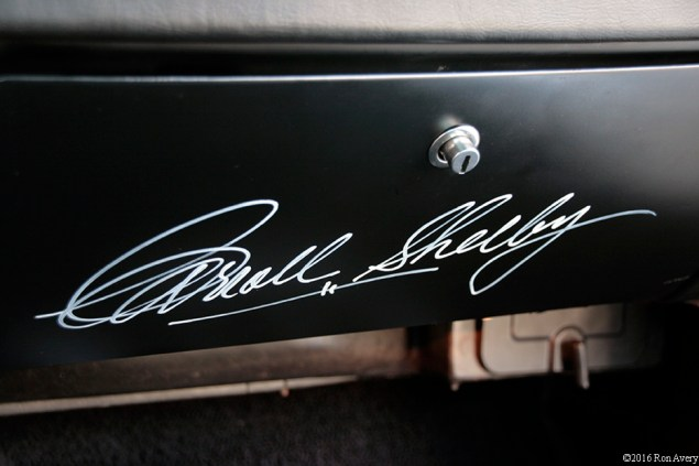 Cars 1967 Ford Shelby GT 350 Mustang / Carroll Shelby's Signature © 2016 Ron Avery