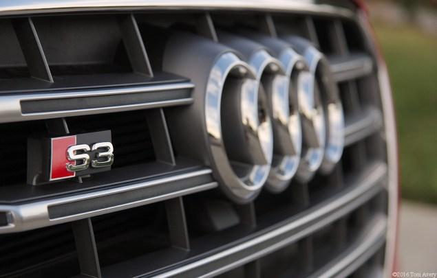 2016 Audi S3 grille