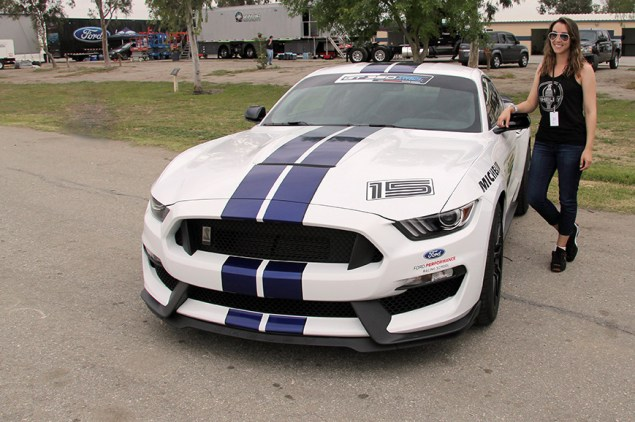 GT350 North American Track Tour Toni w car