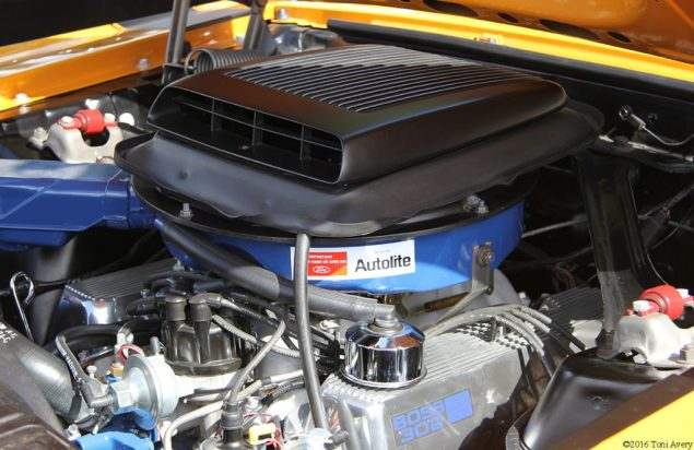 Shelby Car Show 1970 Boss 302 engine