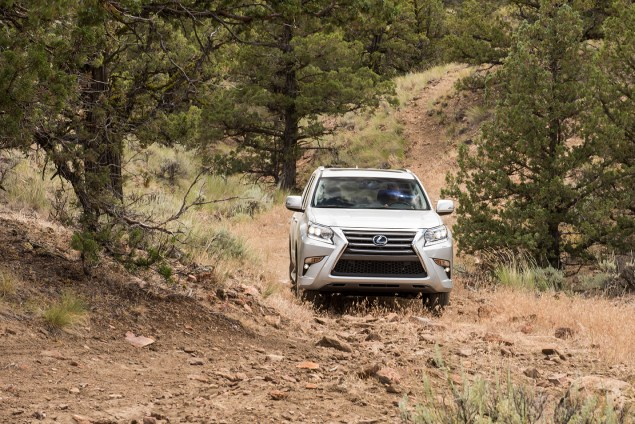2016 Lexus GX460 off-road 2